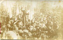 ACTO POLITICO EN AZUL, PROVINCIA DE BUENOS AIRES, ARGENTINA. POSTAL CIRCA 1930's RARISIME CPA - LILHU - Argentine