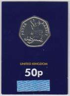 Great Britain UK 50p Coin 2018 Peter Rabbit - Brilliant Uncirculated BU - 1971-… : Decimal Coins