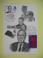 Carte Maximum 1998 N° 3129 - Michel Debré - Cachet Paris Palais Bourbon - Cartes-Maximum