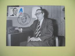 Carte Maximum 1998 N° 3129 - Michel Debré - Cachet St-Denis - Cartes-Maximum