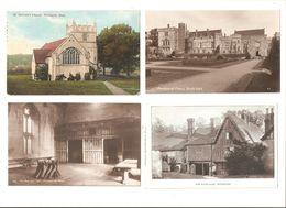 FOUR CARDS OF PENSHURST NEAR TONBRIDGE KENT - England