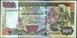 CEYLON & SRI LANKA - 500 Rupees 10.04.2004 UNC P.119 B - Sri Lanka