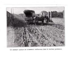 1927 Un Exemple Typique De Lotissement Malheureux Dans La Banlieue Parisienne TBE - Vieux Papiers
