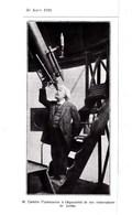 1924 Flammarion Camille Astronome à L'équatorial De Son Observatoire De Juvisy TBE - Vieux Papiers
