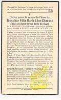 DP Félix M. Chaubet / Caussemille ° Rousset FR Bouches D Rhône 1853 † Knokke-Heist A Zee BE 1934 X B. De Ruyck ° Deinze - Images Religieuses