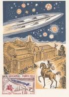 CARTE MAXIMUM PHILATEC 1964   /  3 - Cartes-Maximum