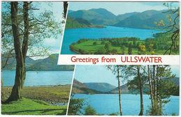 Greetings From ULLSWATER Posted 1973 (Dixon-Lotus, PCU/21314/Cumberland) [P0104/1/1D] - Cumberland/ Westmorland