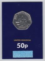 Great Britain UK 50p Coin 2018 Mrs Tittlemouse - Brilliant Uncirculated BU - 1971-… : Monnaies Décimales