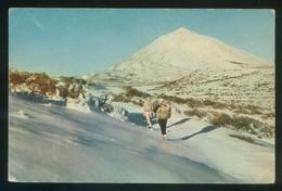 Tenerife. *La Montaña Blanca Y El Teide...* Escrita. - Deportes De Invierno