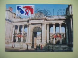 Carte Maximum 1998  N° 3195   Assemblée Nationale - Cachet Paris Palais Bourbon - Cartes-Maximum