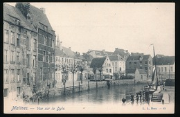 MECHELEN   VUE SUR LA DYLE - Mechelen