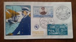 Premier Jour  FDC.. MONACO ..  MUSEE  OCEANOGRAPHIQUE  1960.. - FDC