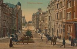 Sydney NSW Australia, Bridge Street Scene, Horse-drawn Carriage, C1900s/10s Vintage Postcard - Sydney
