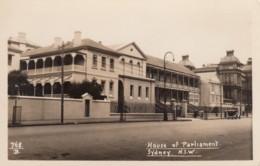 Sydney NSW Australia, House Of Parliament Government Building, C1920s/30s Vintage Real Photo Postcard - Sydney