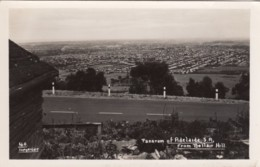 Adelaide SA Australia, View Of Town And Suburbs From Bellair Hill, C1930s Vintage Real Photo Postcard - Adelaide