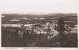 Piccadilly SA Australia, View Of Town From Mount Lofty, C1910s/30s Vintage Rose #P.9164 Real Photo Postcard - Australie