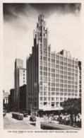 Melbourne VIC Australia, Manchester Unity Building, Architecture, C1930s Vintage Real Rose #P.10708 Photo Postcard - Melbourne