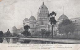 Melbourne VIC Australia, Invitation To 'White Race' Immigrants, Exhibition Building, C1900s Vintage Postcard - Melbourne