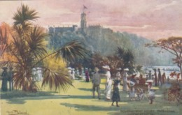 Melbourne VIC Australia, Fullwood Artist Signed Government House, C1900s Vintage Tuck #7292 Postcard - Melbourne