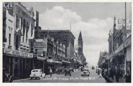 South Perth WA Australia, Bossack Street Scene, Business Signs, Autos, C1930s/40s Vintage Beau #273 Postcard - Perth