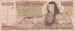Mexico #80a 1000 Pesos Banknote, 1983 Issue - Mexique