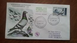 Premier Jour  FDC.. COLOMBOPHILIE .. VINCENNES  1957 - Other