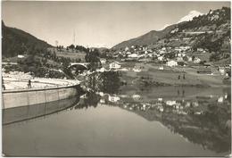 W1991 Pieve Di Cadore (Belluno) - Sottocastello - La Diga E Il Lago - Panorama Con L'Antelao E Il Pelmo / Viaggiata 1950 - Italia