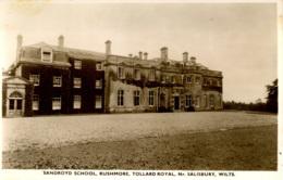 WILTS - TOLLARD ROYAL - RUSHMORE - SANDROYD SCHOOL RP  Wi88 - Inglaterra