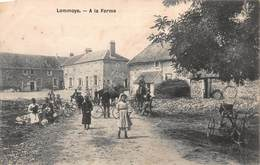 CPA Lommoye - A La Ferme - France