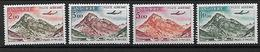 Andorra 1961/64 Landschaften Michel 175-77, 185 ** Mnh - Unused Stamps