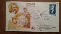 Premier Jour  FDC..  FLAUBERT  ..  ROUEN .. 1952 ..  ROMANCIER - Other
