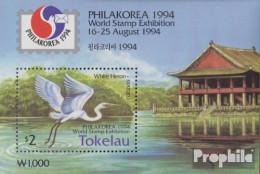Tokelau Block3 (kompl.Ausg.) Postfrisch 1994 Briefmarkenausstellung - Tokelau