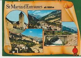 C. P. - PHOTO. -  SAINT MARTIN D'ENTRAUNES- 4 VUES - CIM - C06 125 00 5 5427 - Francia