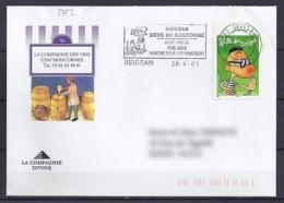 TP N° 3752 SURLETTRE DE 2005 - Poststempel (Briefe)