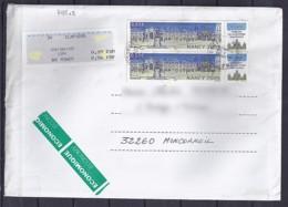 TP N°3785x2 + VIGNETTE  SUR LETTRE DE 2005 - Poststempel (Briefe)