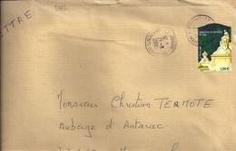TP N°3786  SUR LETTRE DE 2005 - Poststempel (Briefe)