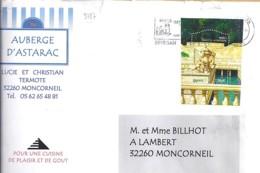 TP N°3787  SUR LETTRE DE 2005 - Poststempel (Briefe)