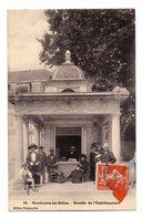 01828-LE-52-Bourbonne-les-Bains-Buvette De L' Etablissement-----------animée - Bourbonne Les Bains