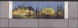 2014 Deutschland Allem. Fed.  Mi. 3083-4 **MNH  Bremer Marktplatz - BRD