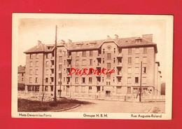 57 Moselle METZ DEVANT LES PONTS Groupe H.B.M. Rue Auguste Roland - Metz