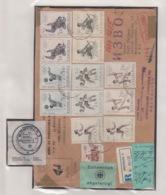 JOUGOSLAVIA REGISTERED MICHEL 1290/95 OLYMPC MEXICO (2) - 1945-1992 Socialist Federal Republic Of Yugoslavia