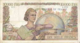 Billet 10000 F Génie Français Du 5-11-1953 FAY 50.68 Alph. G.5777 - 1871-1952 Anciens Francs Circulés Au XXème