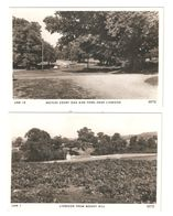 TWO RP POSTCARDS OF LINWOOD & MOYLES COURT BOTH UNUSED - England