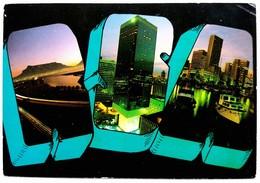#759  Views Of Johannesburg RSA - South Africa - Used Postcard Stamps - Afrique Du Sud