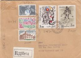 LETTRE RECOMMANDÉ. ST MAUR DES FOSSES  /  3 - Marcophilie (Lettres)