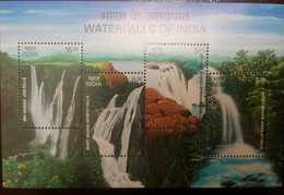 L) 2012 INDIA, WATERFALLS OF INDIA, NATURE, TREE, MNH - India