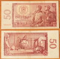 Czechoslovakia 50 Korun 1964 - Tsjechoslowakije
