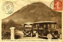 63 LE PUY-DE-DOME / LES AUTOBUS DU SERVICE DES TRANSPORTS PUBLICS / A 380 - Non Classés