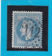 N° 29 B    GC  3112   RENNES  /  34 ILLE ET VILAINE  - REF DIVAC - 1863-1870 Napoleon III With Laurels
