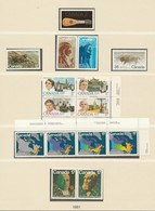 Canada  .     Page With Stamps  .      **       .  MNH    .   /    .  Postfris - 1952-.... Reign Of Elizabeth II